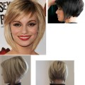 Angled bob pictures show front and back view long hairstyles