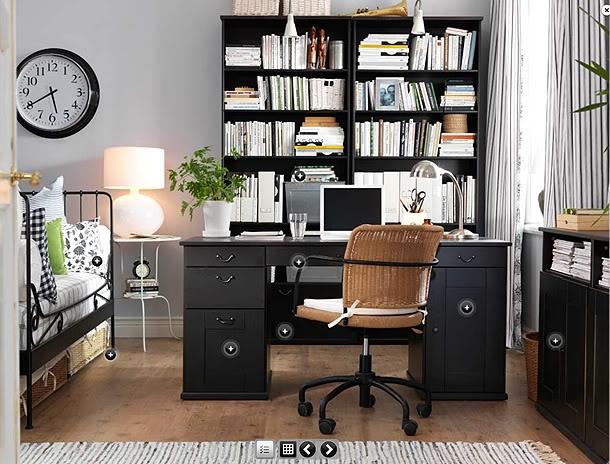 like guest bedroom/office combo