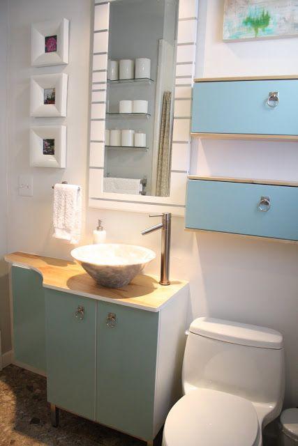 ikea hack for a small bathroom  diy  Pinterest