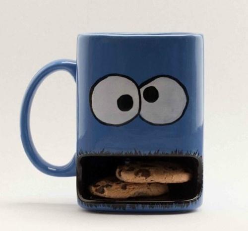 Cookie Monster Mug...i need this