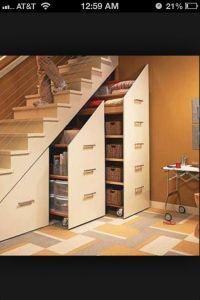 Basement Storage Idea | Organization | Pinterest