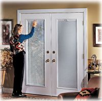 60 French Doors Exterior With Built In Blinds