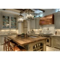Lantern lighting in kitchen!