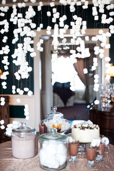 hoilday bash :: hot chocolate & holiday lights