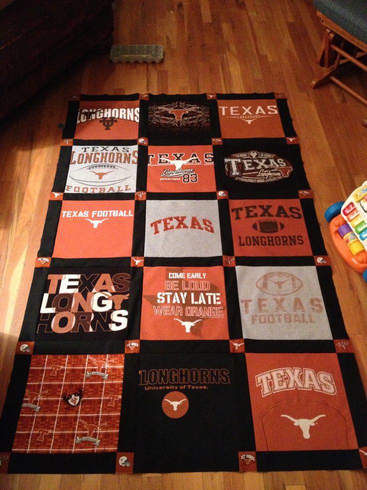 T Shirt Quilt Texas