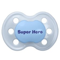Blue Personalized Baby Boy Pacifier