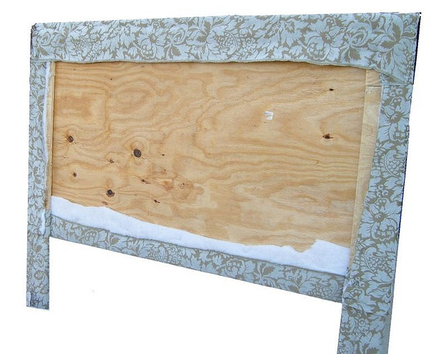 How to make a Fabric Covered Headboard.