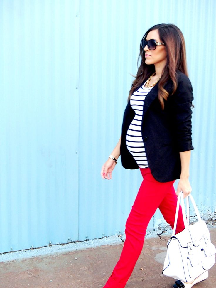 Great style during pregnancy can be done!