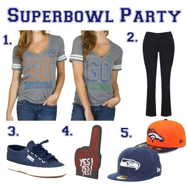 Women's fashion | Super Bowl Sunday | inspiration
