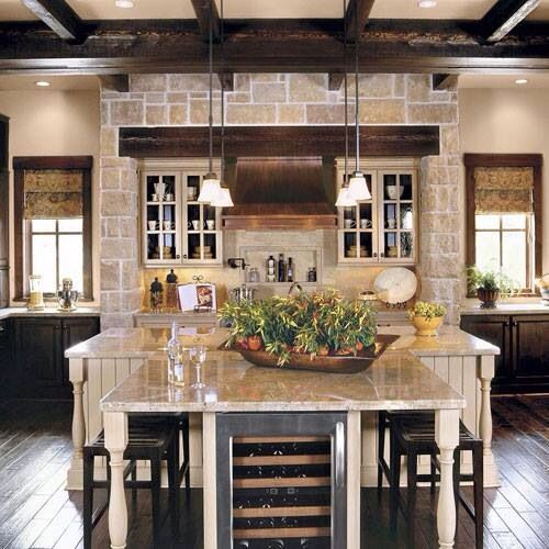 Southern Living Kitchen  New House Ideas  Pinterest