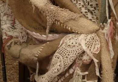 Burlap And Lace Curtains