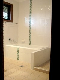 Green Mosaic Bathroom Feature Tiles | To show Nath | Pinterest