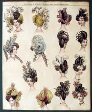 1830s hairstyles 1800-1840s