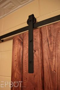 Sliding Barn Doors: Make Your Own Sliding Barn Door Hardware