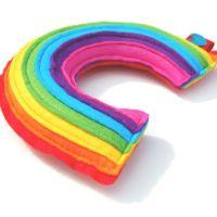 Rainbow Plushie - A Cute and Cuddly Plush Felt Rainbow