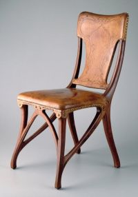 Art Nouveau dining chairs