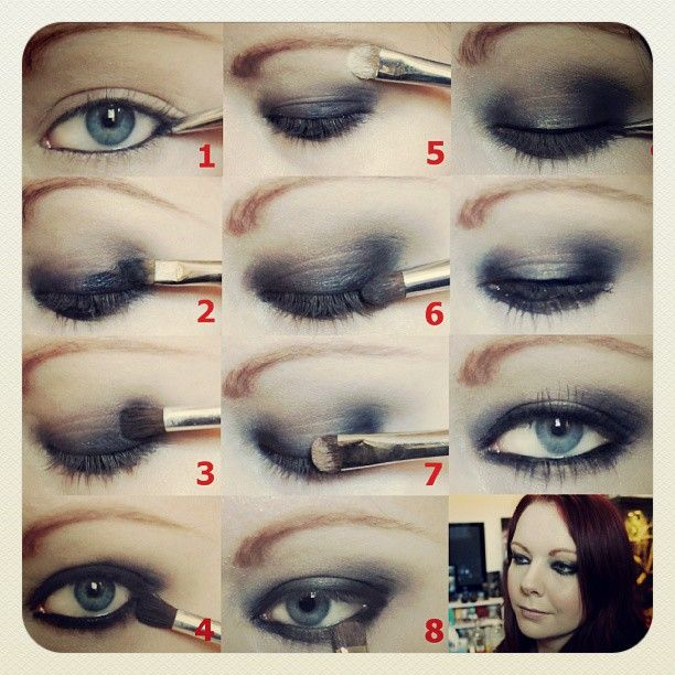 Eye Makeup Tutorial For Sagging Eyelids Cartoonview