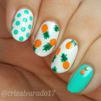 Pineapple Nail Art . | Cute nail art | Pinterest