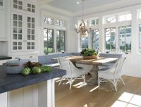 Kitchen banquette | Built ins | Pinterest
