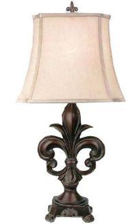 LAMP FLEUR DE LIS   Lancaster House wholesale superstore ...