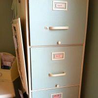 Filing cabinet redo   Creative Ideas: Repurposing ...