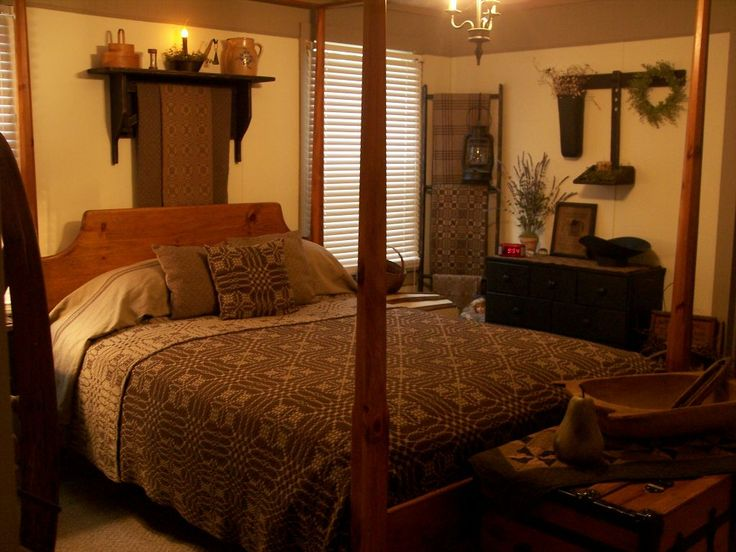 Primitive Colonial Home Decor