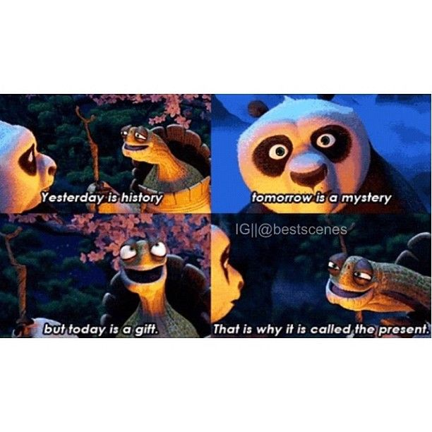 Kung fu panda. Love this quote