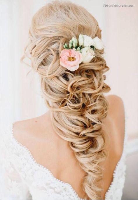 Peinado para boda en playa o jardín