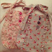 cute homemade baby bibs | costura | Pinterest