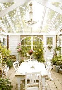 classic shabby chic sunrooms | SUNROOMS | Pinterest