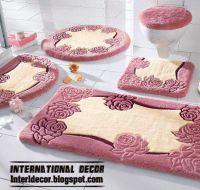 stylish pink bathroom rugs and rug sets | Carpets | Pinterest