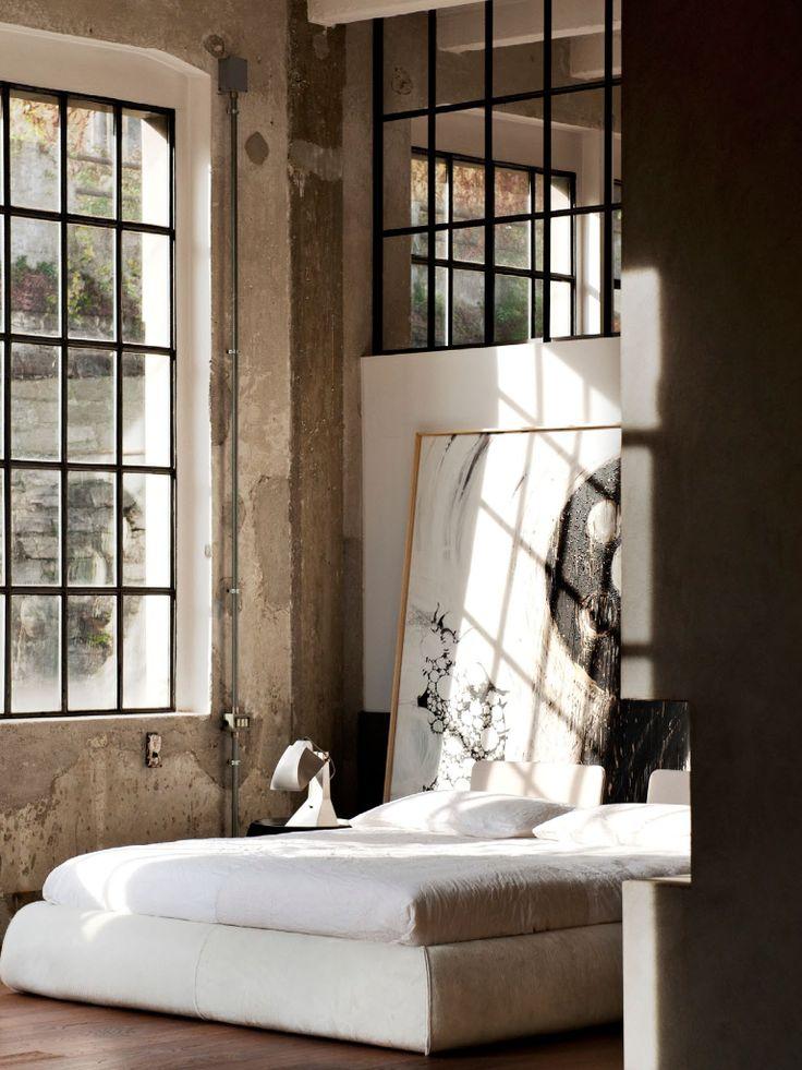♂ The Organic living rustic interior design bedroom