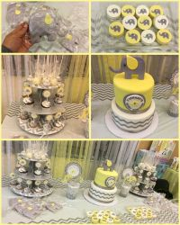 1000+ ideas about Yellow Baby Showers on Pinterest | Grey ...