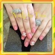 chanel 3d nails nail art