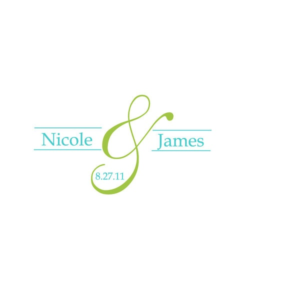 Wedding monogram #custommonograms #weddingmonograms