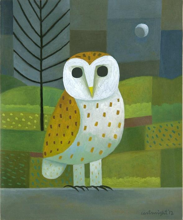 'Barn Owl' by Reg Cartwright