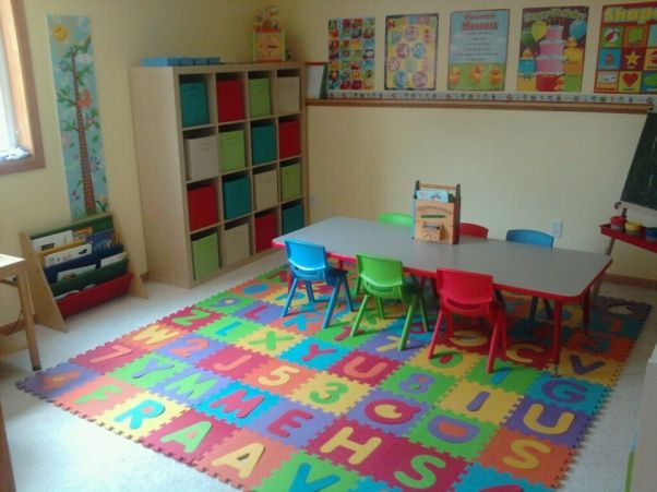 Daycare Set-up & Organization Ideas