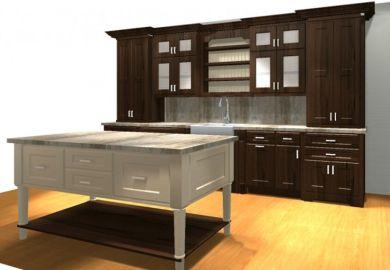 Kitchen Ideas Dark Cabinets