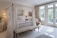 Dreamy master bedroom. French doors.