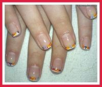 Do It Yourself Thanksgiving Nail Designs