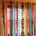 Fabric strip curtains elhouz