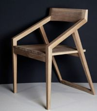 Modern Minimalist Japanese chair   Muebles favoritos ...