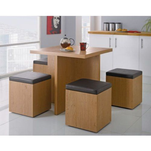 Space saving dining table  Small home interiors  Pinterest