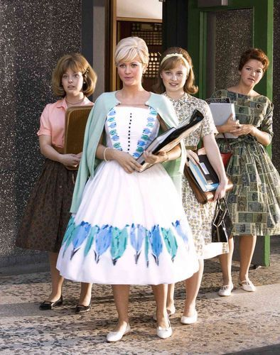 Okay so, I am in love with Brittany Snow and all the dresses she wore in Hairspray. Love the 60's look