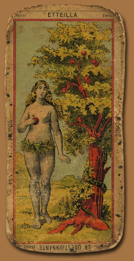 Vintage 'The Star'. The card of hopes and dreams of a higher, more significant nature. The card of shining because of inner worth or accomplishments.