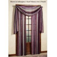 Window scarf   Window Treatments   Pinterest