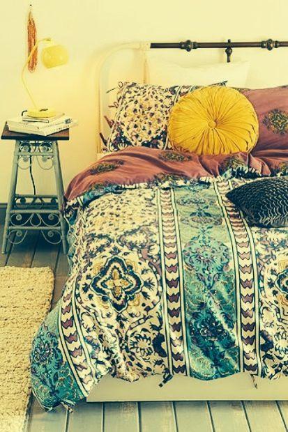 Colchas coloridas para nuestro dormitorio