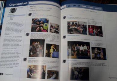Social Media Yearbook Ideas