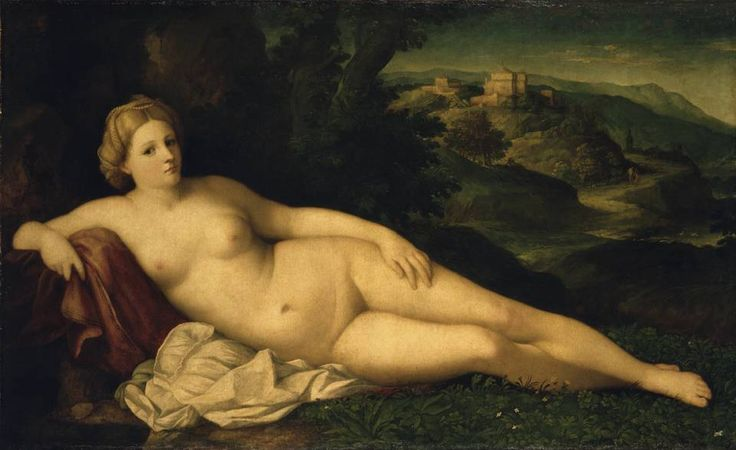 Palma il Vecchio, Resting Venus, To 1518/20, oil on canvas, 112 x 186 cm, Gemäldegalerie Alte Meister © State Art Collections in Dresden
