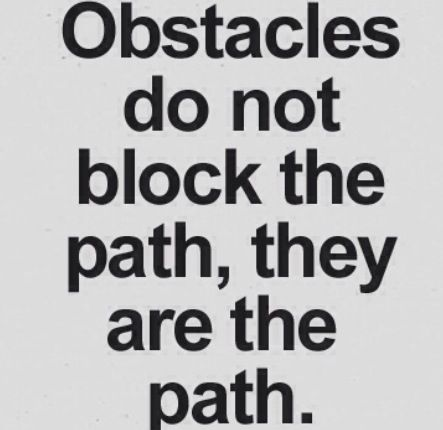 Overcoming Obstacles Quotes Funny. QuotesGram